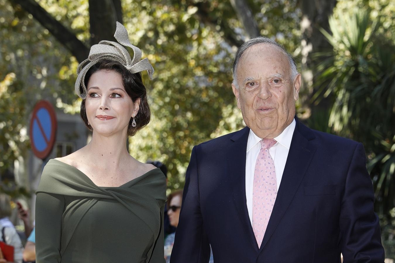 Los marqueses de Griñón, Carlos Falcó y Esther Doña