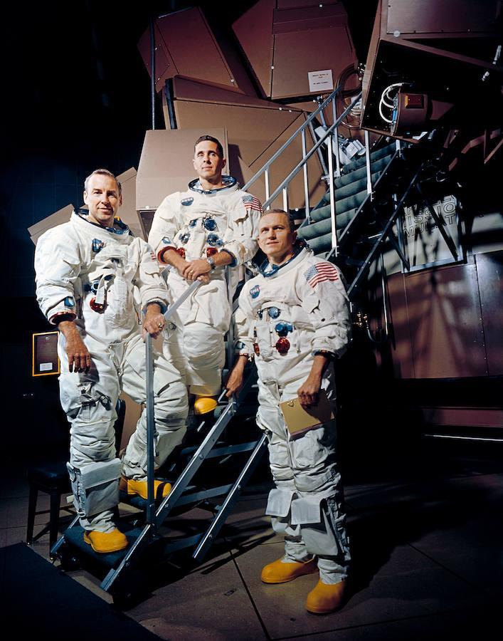 La misión Apolo VIII en imágenes