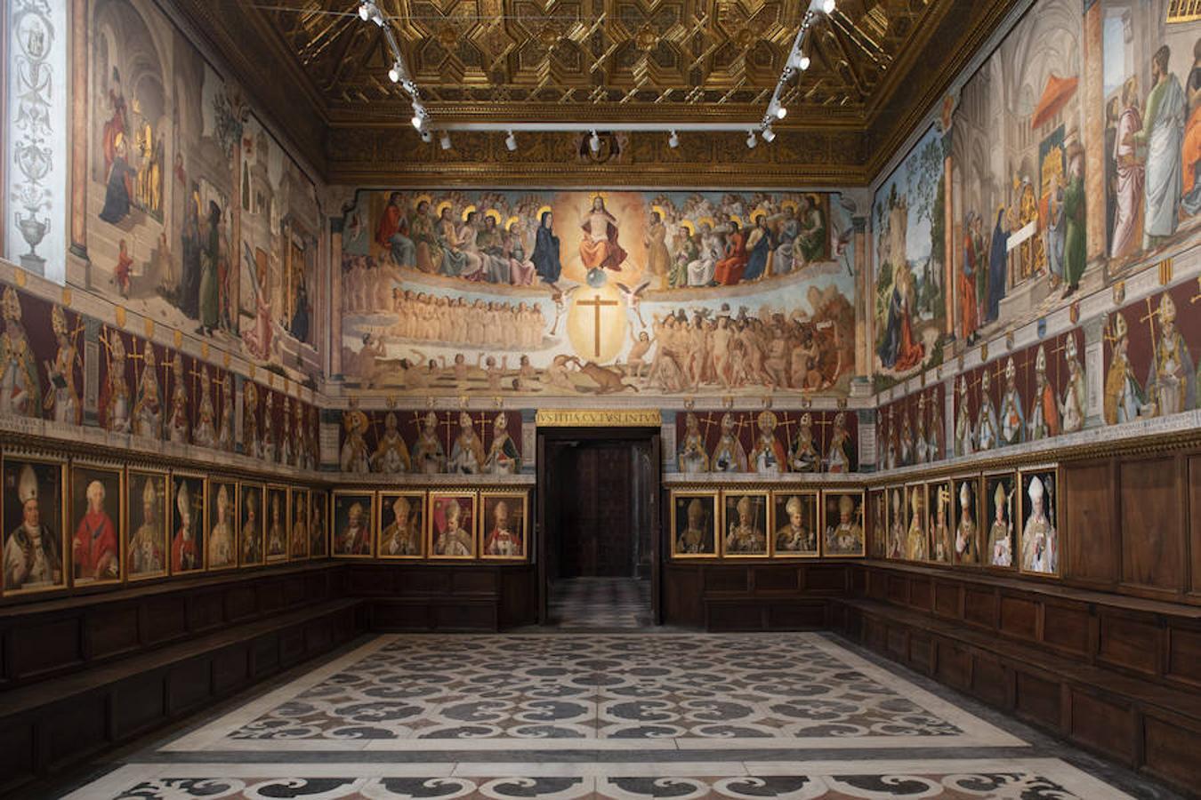 Vista general de la Sala Capitular de la Catedral de Toledo