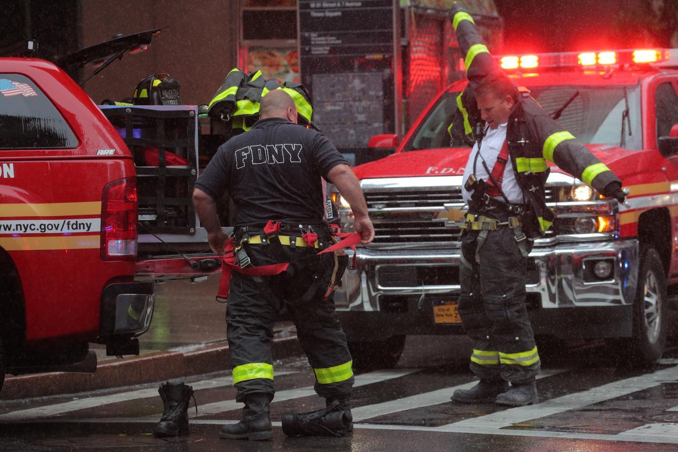 Los servicios de Emergencias han acudido con rapidez al lugar del suceso.