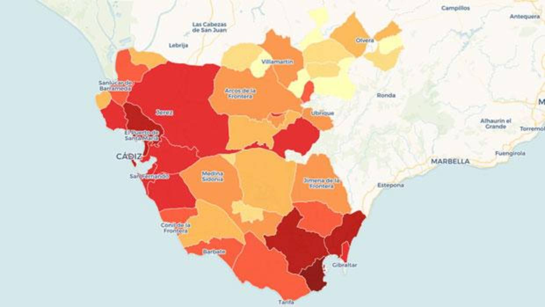 Los Municipios Mas Ricos Y Mas Pobres De La Provincia De Cadiz