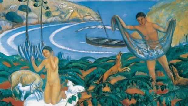 Obra de Paul Signac que es el origen de la exposición