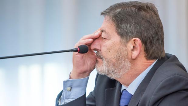 Francisco Javier Guerrero, exdirector de Trabajo acusado en la pieza política del caso ERE