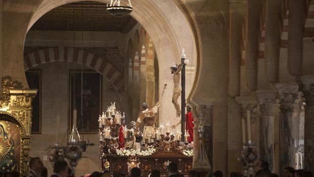 El misterio de la Agonía de Córdoba en el interior de la Mezquita-Catedral en el año 2015