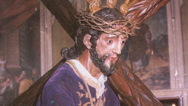 Imagen histórica de Nuestro Padre Jesús Nazareno de Puente Genil, conocido como «El Terrible»
