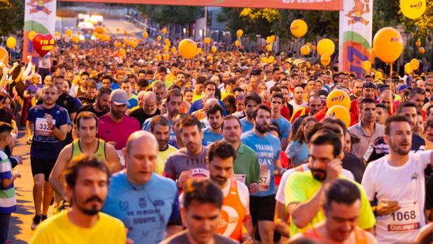 La Nocturna Trotacalles de Córdoba, en la edición del año pasado