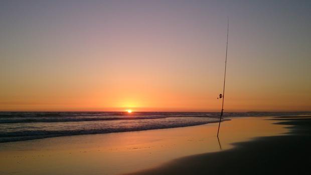 Puesta de sol en El Palmar, un placer para los sentidos