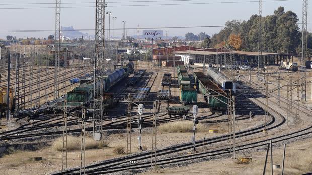 Estación de mercancías del Higuerón
