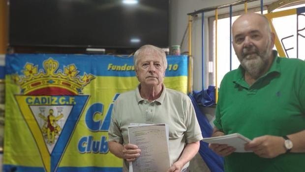 Juan Limón y Manuel Pérez Fabra