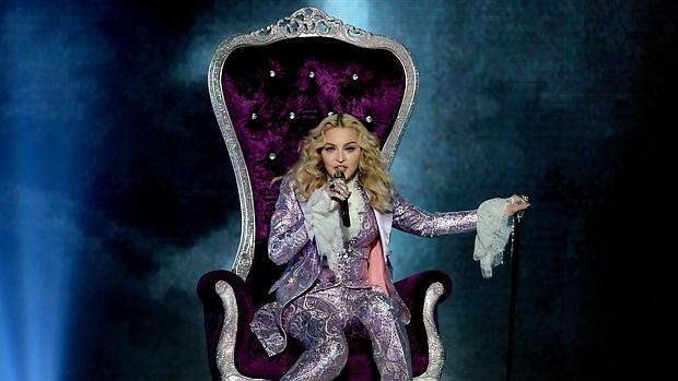 Madonna homenajeó al fallecido Prince