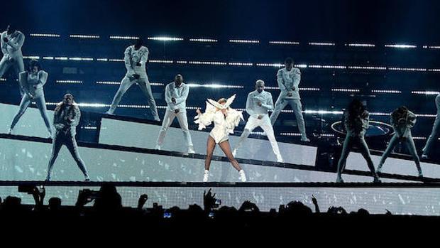 Una imagen del primer concierto de la nueva gira de la artista neoyorquina