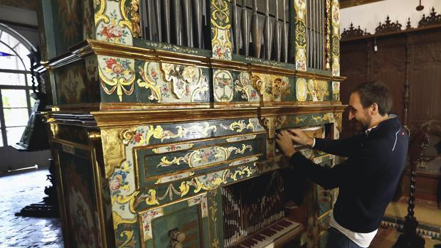 El órgano de Santa Inés recientemente restaurado