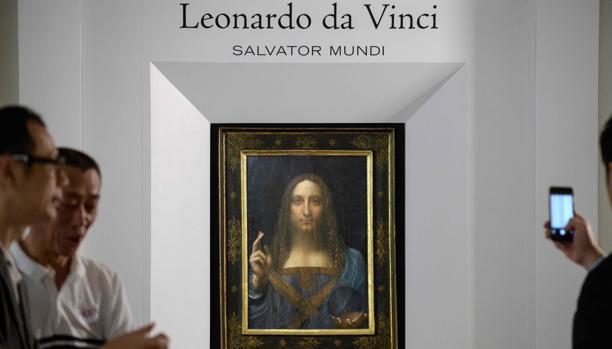 «Salvator Mundi», atribuido a Leonardo da Vinci