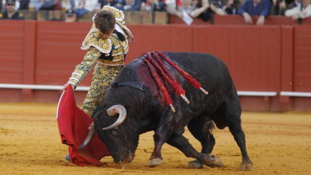 El Juli y el toro Orgullito que fue indultado el 16 de abril de este año