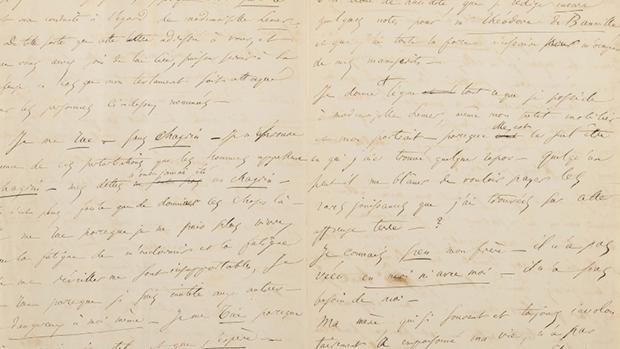 La carta en la que el poeta anunciaba su suicidio
