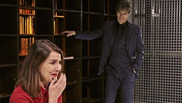 Ana Fernández y Miguel Hermoso, en «La culpa»