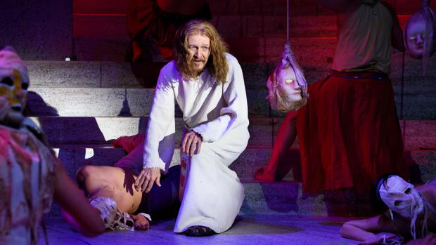Ted Neeley, en «Jesucristo Superstar»