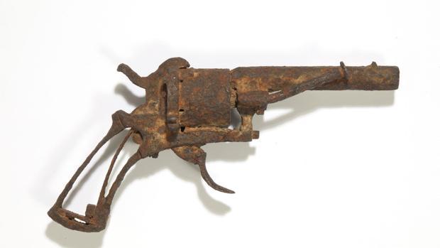 La pistola con la que Van Gogh se hirió de muerte tras dispararse en el pecho durante 1890
