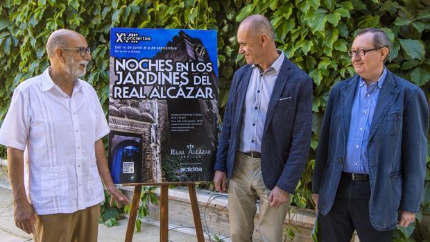 Presentación del ciclo de conciertos: Noches en los Jardines del Real Alcázar