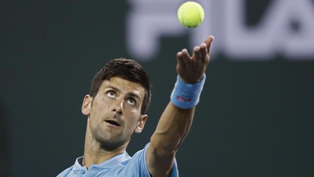 Djokvoc, en el torneo de Indian Wells