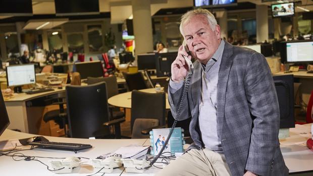 El dueño de Combate Américas, Campbell McLaren, posa en la redacción de ABC