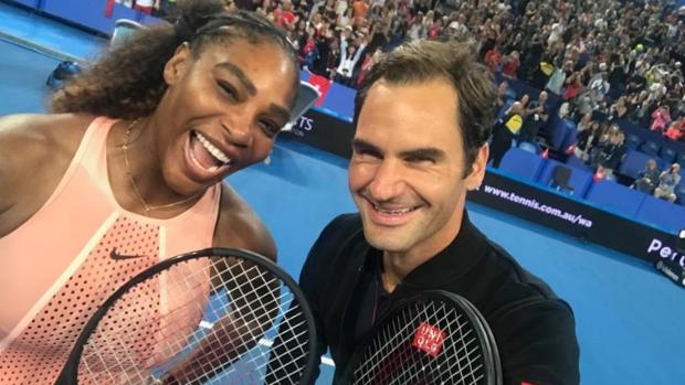Williams y Federer
