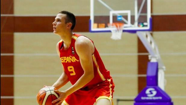 El joven Rubén Domínguez es una de las piezas claves de la selección