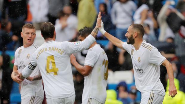 El Real Madrid en la presente temporada