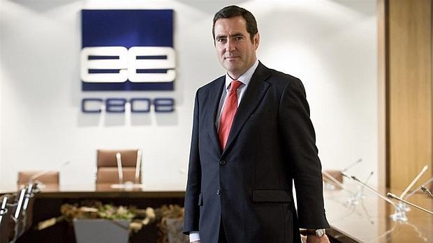 Antonio Garamendi, presidencte de Cepyme