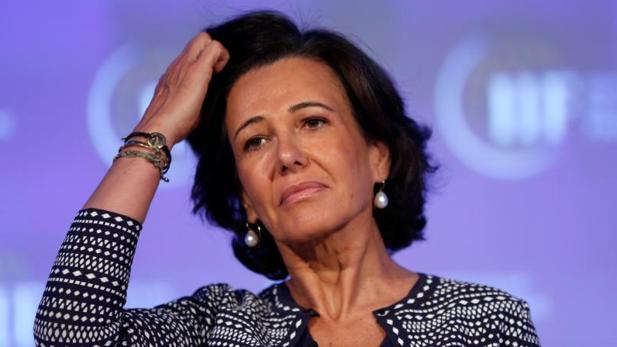 La presidente del Banco Santander, Ana Botín