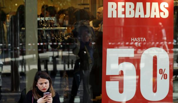 Las ventas del comercio cayeron en enero