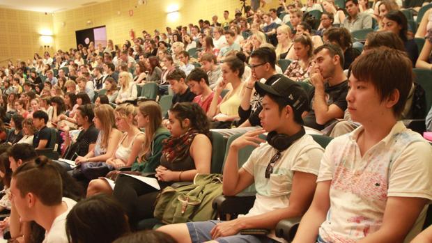 Bienvenida a estudiantes Erasmus