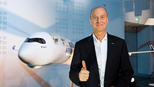 El presidente de Airbus, Tom Enders, en una imagen de archivo