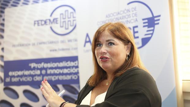 Carmen Moreno, presidenta de la Asociación de Concesionarios de Sevilla, Asconse