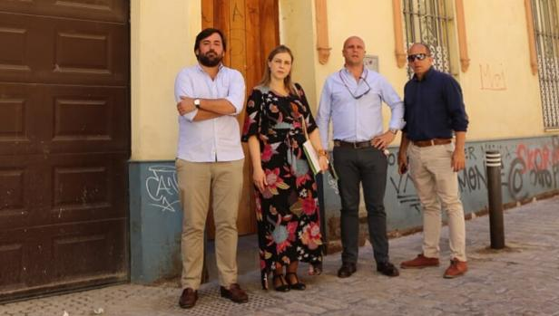 Manuel Otero, Cristina Peláez, Germán Barquín y Tato Moreno
