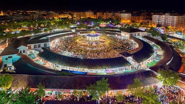 Vista aérea del recinto ferial de Albacete
