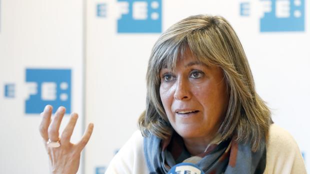 La número dos del PSC y alcaldesa de L'Hospitalet de Llobregat (Barcelona), Núria Marín