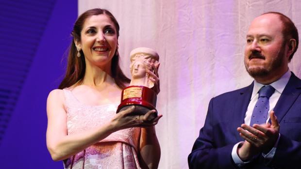 Espido Freire recibe el Premio Azorín, este jueves en Alicante
