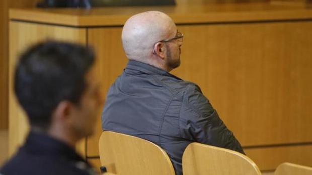 El ahora liberado Pedro Raño durante el juicio celebrado el pasado mes de septiembre