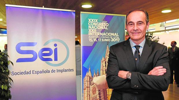 Alberto Sicilia, presidente de la Asociación Europea de Ostointegración