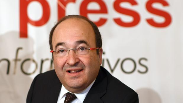 El líder del PSCE, Miquel Iceta