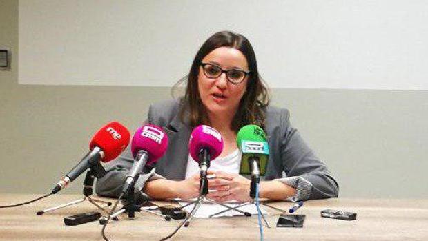 María Diaz, secretaria de Organización de Podemos Castilla-La Mancha