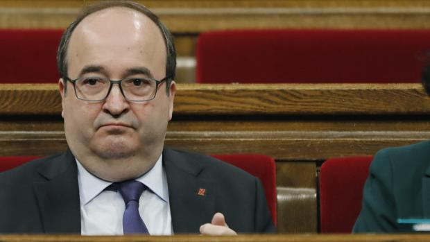 El dirigente del PSC Miquel Iceta