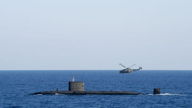 El submarino HMS Talent