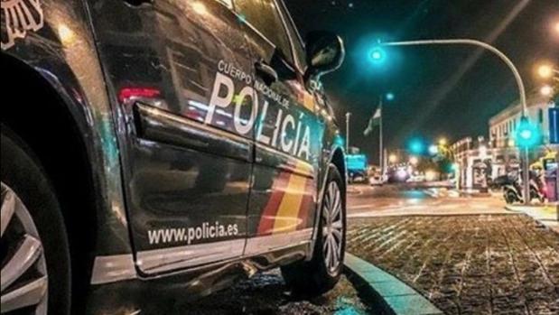 Patrulla nocturna de la Policía Nacional
