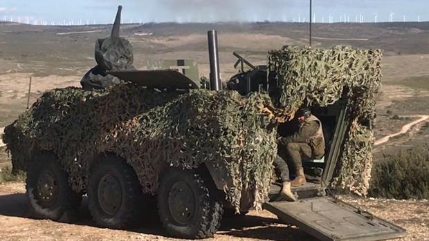 Maniobras del Ejército de Tierra esta semana en Fuerteventura
