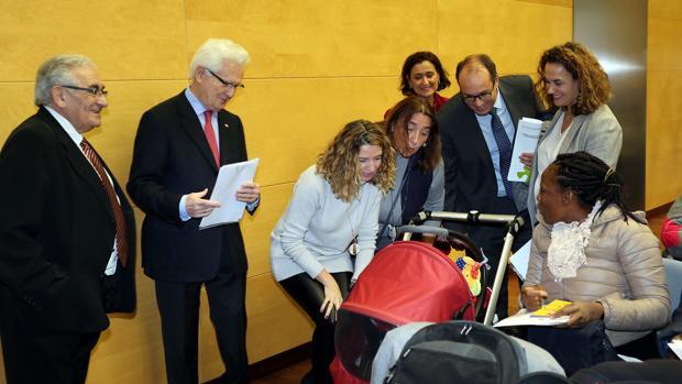 consejera de Familia e Igualdad de Oportunidades, Alicia García, participa en la apertura de la Jornada de Atención Socio-sanitaria a personas beneficiarias y solicitantes de Protección Internacional