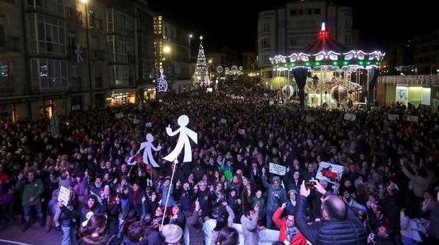Miles de sorianos se manifestaron en la noche del viernes por el centro de la ciudad
