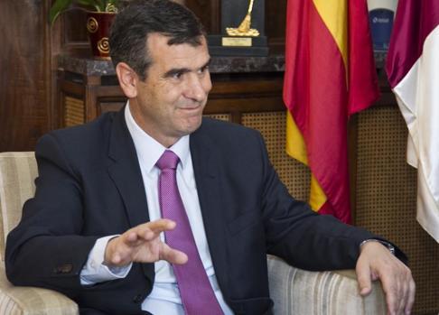 El alcalde de Guadalajara, Antonio Román