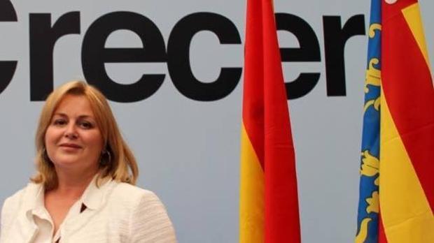 La presidenta del PP en Alfaz del Pi, Maite Huerta